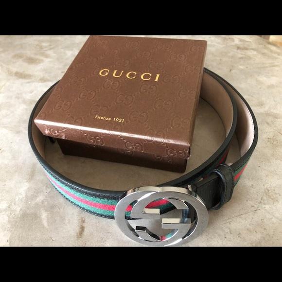 b0498e0cb9e Gucci Belt size 110 cm or 44 in